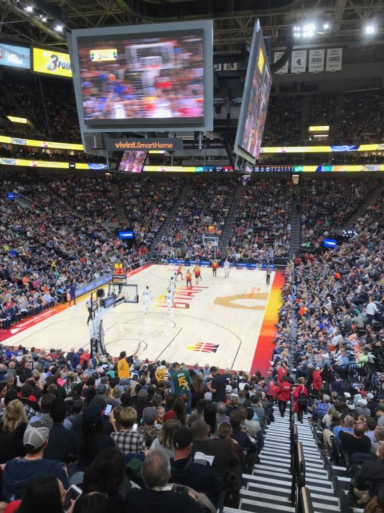 Le Vivint Arena à Salt Lake City