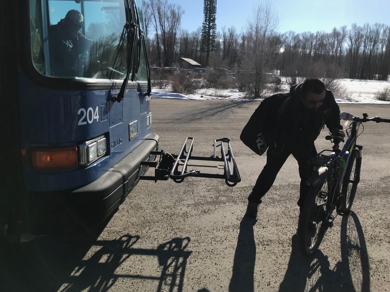 Le porte vélo sur les bus