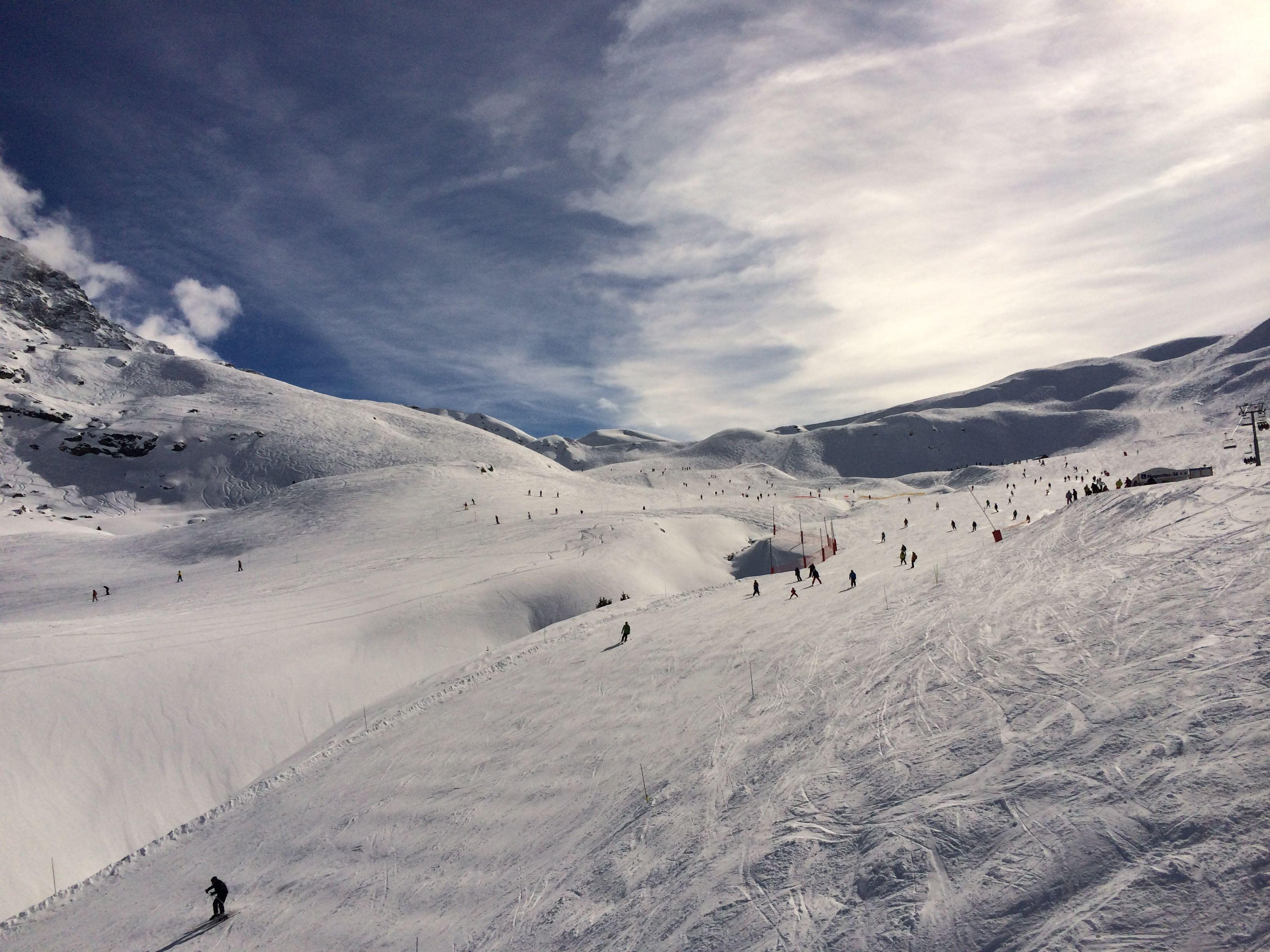 blog de voyages - station de ski Les Arcs